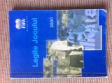 LEGILE JOCULUI 2005 FIFA FOTBAL carte fan SPORT arbitru arbitii arbitraj hobby, Alta editura
