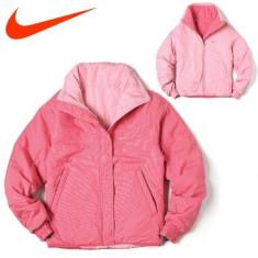 GEACA NIKE REVERSIBLE PINKY - Geaca dama Nike, Marime: XS, S, Roz