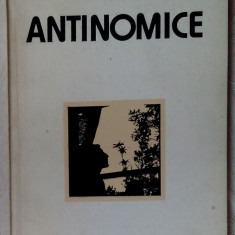 MARIUS VULPE - ANTINOMICE (VERSURI, 1983)[dedicatie/autograf pt VALERIU PANTAZI] - Carte poezie