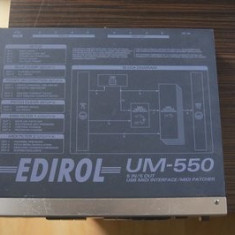 Interfata midi Edirol UM 550 Altele