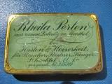 Rheila Perlen Cutie Medicamente veche metal.