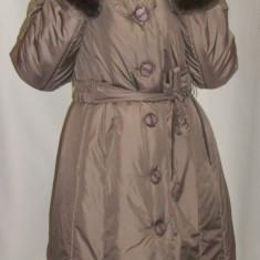 Jacheta casual, de culoare negru, maro, bej JA-2467-BE (Culoare: MARO DESCHIS, Marime: 48) - Jacheta dama
