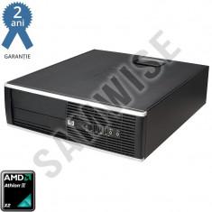 Calculator Incomplet HP Compaq Pro 6005 SFF, AMD Athlon II X2 220, 2.8GHz, DDR3, SATA2, VGA, DisplayPort - Sisteme desktop fara monitor HP, Fara sistem operare