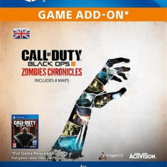 Call Of Duty Black Ops Iii Zombies Chronicles Edition Ps4 - Jocuri PS4