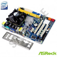 KIT Placa de baza ASROCK G31M-GS REV. 2.01 + Intel Core 2 Quad Q6600 2.4GHz + Cooler Procesor