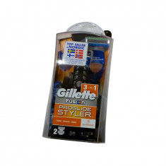 Aparat de ras si tuns Gillette Fusion ProGlide Styler, 2 rezerve