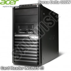 Carcasa Middle Tower Acer M430G cu Sursa Delta 300W si Card Reader Inclus