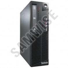 Calculator Lenovo M71E SFF, Intel Core i5 2500 3.3GHz, 4GB DDR3, Video HD Graphics DVI, 320GB, DVD-RW - Sisteme desktop fara monitor