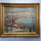 SAMUEL MÙTZNER - ARTIST , PICTOR NAȚIONAL - PEISAJ LA BALCIC - 1931 - u/c, Natura, Ulei, Realism