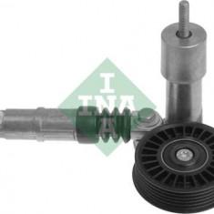 Intinzator curea transmisie vw - Brat tensionare curea transmisie INA, Volkswagen