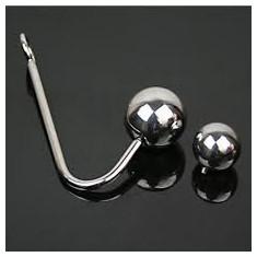 Carlig Anal Big Ball 3mm Anal Hook Prostate Massager Bondage Fetish BDSM Otel - Dildo anal