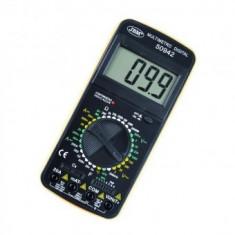 Multimetru digital JBM 53942, sonda de temperature, 20 A