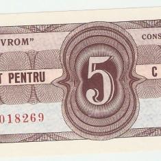 NAVROM CONSTANTA - Tichet 5 Centi. UNC.