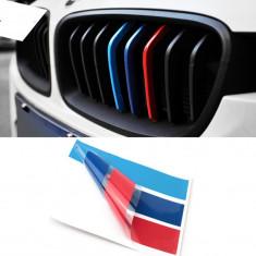 NOU Emblema Sticker Grila BMW M Tech Paket E36 E46 E90 E60 Seria 3 5 7 - Embleme auto