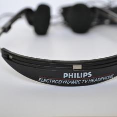 Casti audio Philips SBC3141, model de studio video., Casti Over Ear, Cu fir, Mufa 3, 5mm