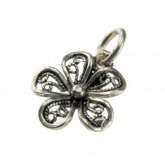 Pandantiv argint floricica