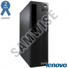 Calculator Incomplet Lenovo M75e DT, Socket AM3 DDR3, SATA2, Video ATI Radeon 3000 DVI VGA, Cooler Procesor - Sisteme desktop fara monitor