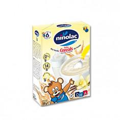 Cereale Pentru Copii Cu Orez Si Vanilie, Ninolac, 6 Luni+, 200G - Cereale copii