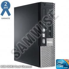 Calculator Dell 9010 USFF, Intel Core i3 3220 3.3GHz, Video Intel HD Graphics 2500, 8GB DDR3, 120GB, DVD-ROM - Sisteme desktop fara monitor Dell, Fara sistem operare