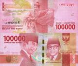 INDONEZIA 100.000 rupiah 2016 UNC!!!