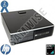 Calculator Incomplet HP Compaq Pro 6005 SFF, AMD Athlon II X2 255 3.1GHz, DDR3, SATA2, VGA, DisplayPort - Sisteme desktop fara monitor HP, Fara sistem operare