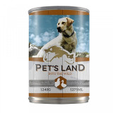 Pet's land Dog - conserva cu carne de pasare - 1240 gr - Reviste benzi desenate