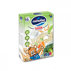 Cereale Pentru Copii Cu Orez Si Legume, Ninolac, 6 Luni+, 200G foto