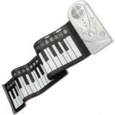 Orga flexibila cu claviatura Roll-Up 49 clape
