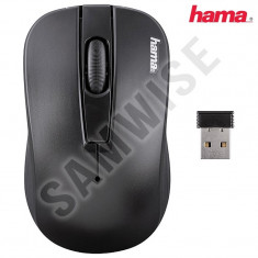 Mouse Wireless HAMA MOU134918 AM-7701, 2.4GHz, Optic
