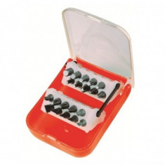 Set biti SMA DE 101551, cutie plastic, 20 piese - Surubelnita/Inbus