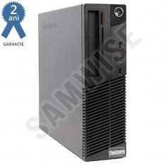 Calculator Lenovo M81 SFF, Intel Pentium G630 2.7GHz, 4GB DDR3, Video HD Graphics, 320GB - Sisteme desktop fara monitor