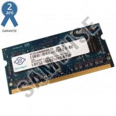 Memorie 2GB NANYA DDR2 800MHz SODIMM - Memorie RAM laptop
