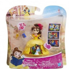 Figurina Hasbro Disney Princess Little Kingdom Mini Doll Spin A Story Belle