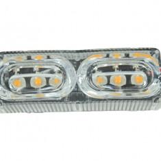 Lampa Flash Stroboscop LED Albastru 12V AL-010917-4