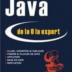 Stefan tanasa java de la 0 la expert - Carte Limbaje de programare