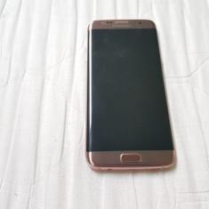 Samsung Galaxy S7 edge ** PINK - GOLD ** - Telefon Samsung, Auriu, 32GB, Neblocat, Single SIM