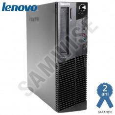 Calculator Lenovo M82 SFF, Intel Pentium G630 2.7GHz, 4GB DDR3, 200GB, DVD-RW - Sisteme desktop fara monitor Lenovo, Fara sistem operare