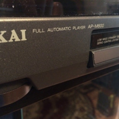 Pick-up Vintage AKAI AP-M600 - Full Automatic - stare Perfecta/made in Korea