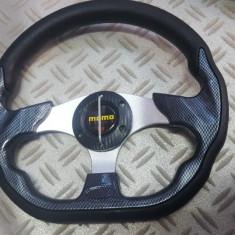 Volan sport carbon de culoare carbon momo - Volan tuning, Universal
