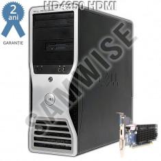 Calculator Dell Precision T3400, Intel Core 2 Quad Q6600 2.4GHz, 4GB DDR2, 250GB, Video HD4350 DVI, HDMI, VGA, DVD-RW - Sisteme desktop fara monitor Dell, Fara sistem operare