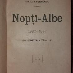 TH. M. STOENESCU - NOPTI-ALBE