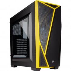 Carcasa Corsair Carbide Series SPEC-04 Windowed Black Yellow - Carcasa PC Corsair, Middle tower