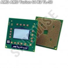 Procesor Laptop, AMD Turion 64 X2 TL-50 1.6GHz, Dual Core, Cache 1MB, 64-Bit, TDP 31W