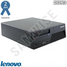 Calculator Incomplet Lenovo M58P DT, LGA775, Intel G41, DDR3, SATA2 - Sisteme desktop fara monitor