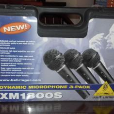 Set 2x microfon dynamic BEHRINGER XM-1800s