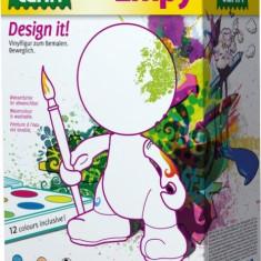 Set Creativ Pentru Colorat Figurina Lena Baiat - Jocuri arta si creatie