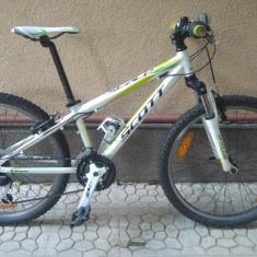 Bicicleta juniori SCOTT Scale JR 24 - Mountain Bike Scott, 12 inch, Numar viteze: 21