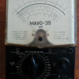 Aparat de masura vintage romanesc MAVO 35 AEM / CJP