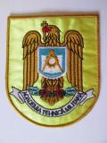 Cumpara ieftin Emblema textila(93 x 77 mm) Academia Tehnica Militara