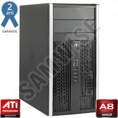 Calculator Incomplet HP Compaq Pro 6305 MT cu Procesor Inclus AMD Quad Core A8 5500B 3.2GHz (Turbo frequency 3.7GHz), DDR3, SATA2, Video Radeon HD... - Sisteme desktop fara monitor